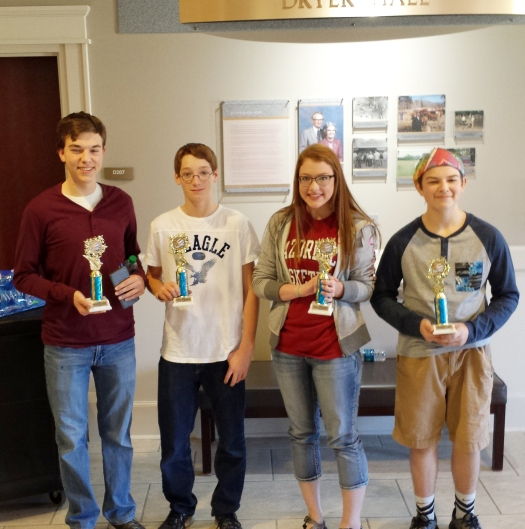 Local High School Students Compete In The Regional Actm Math