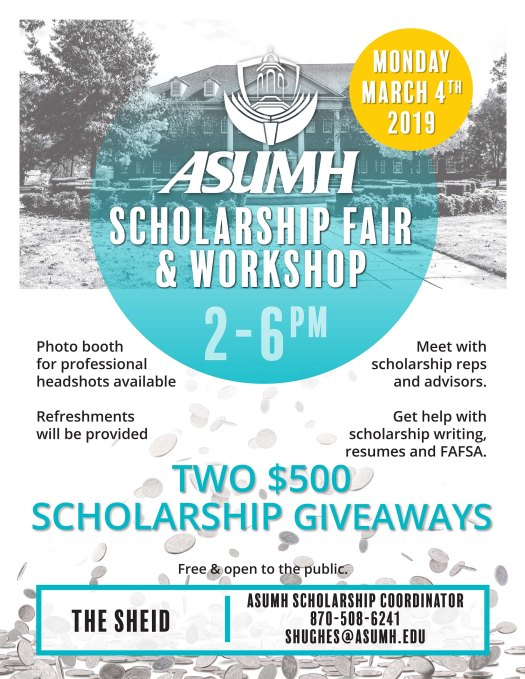 Scholarship Fair Flyer